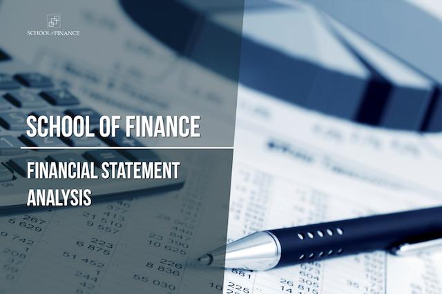 Financial Statement Analysis 2020